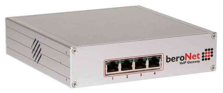 passerelle VoIP Numeris RNIS Beronet converti PABX en Téléphonie IP